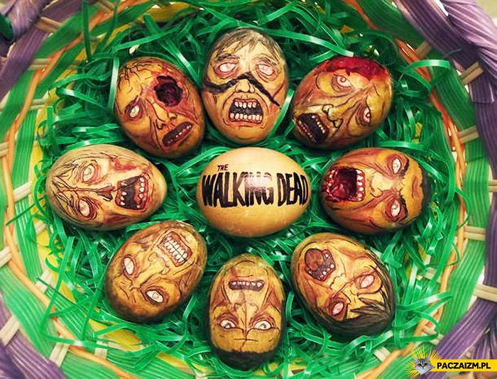 Pisanki zombie The Walking Dead