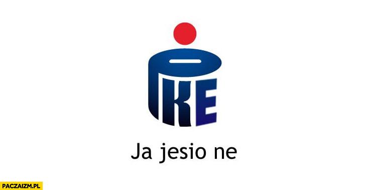 Pke ja jesio nie logo PKO banku przeróbka wykop