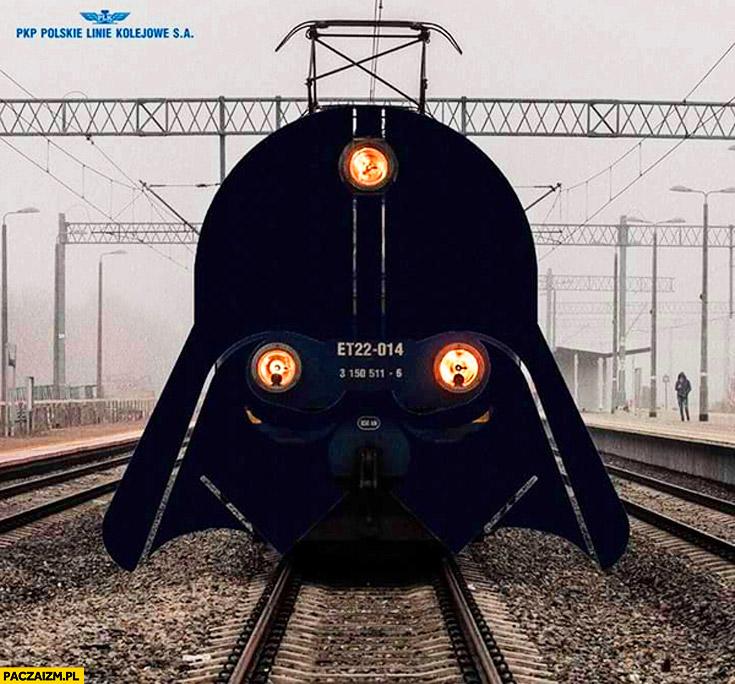 PKP pociąg Darth Vader