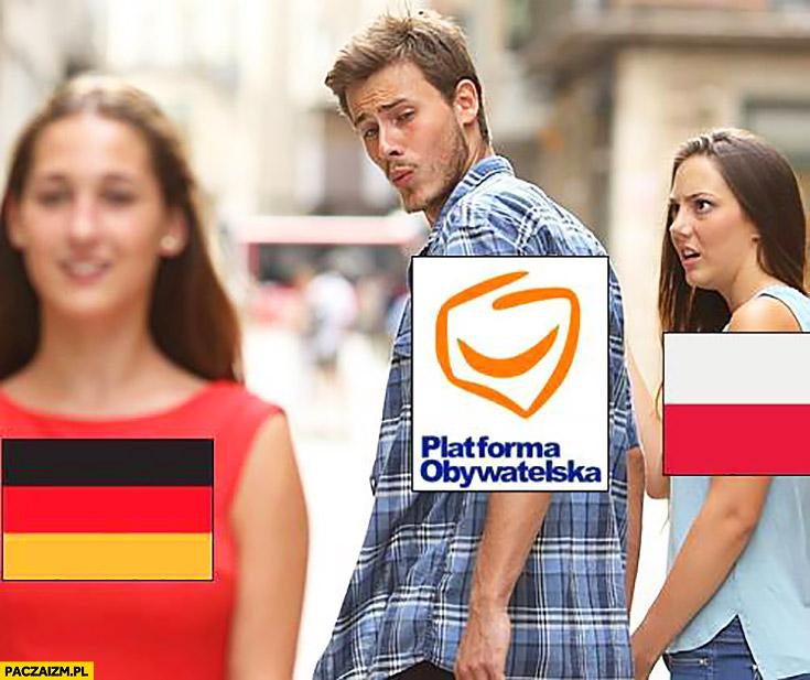 Platforma Obywatelska ogląda się za Niemcami Polska zszokowana