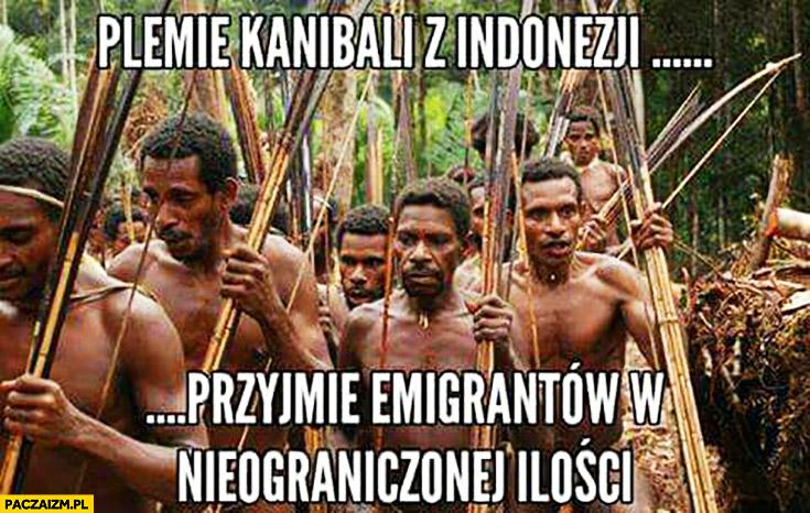 Plemię kanibali z Indonezji przyjmie emigrantów w nieograniczonej ilości