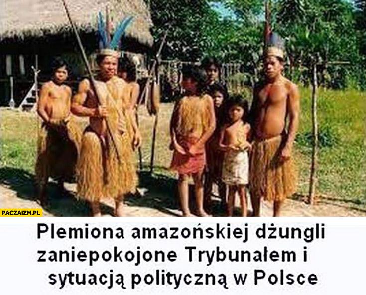 Plemiona amazońskiej dżungli zaniepokojone Trybunałem i sytuacją polityczną w Polsce