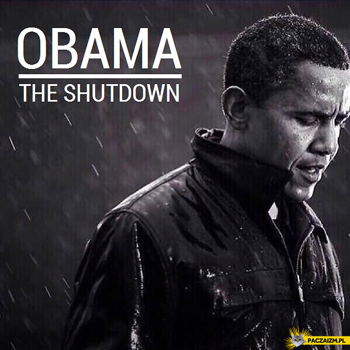 Płyta Barack Obama the shutdown
