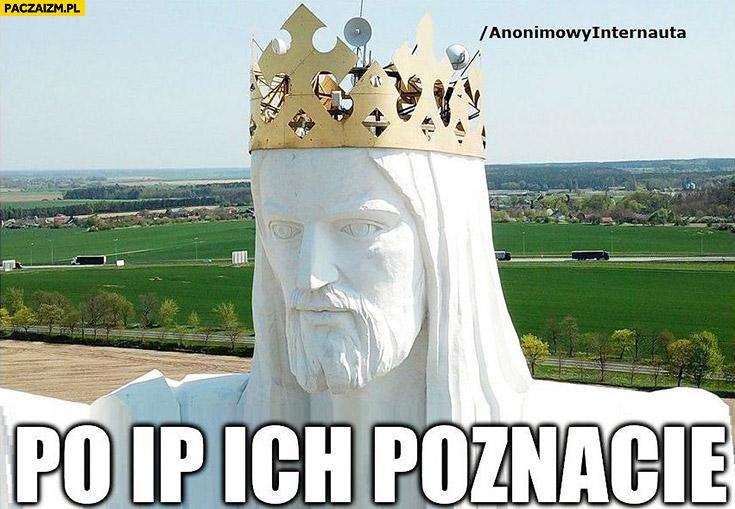 Po IP ich poznacie pomnik Jezusa w Świebodzinie z antenami Anonimowy internauta