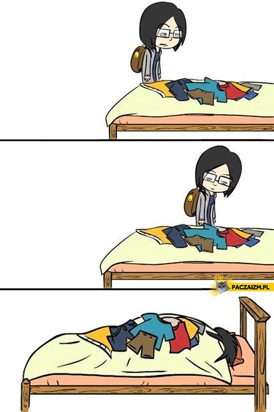 Po przyjściu ze szkoły