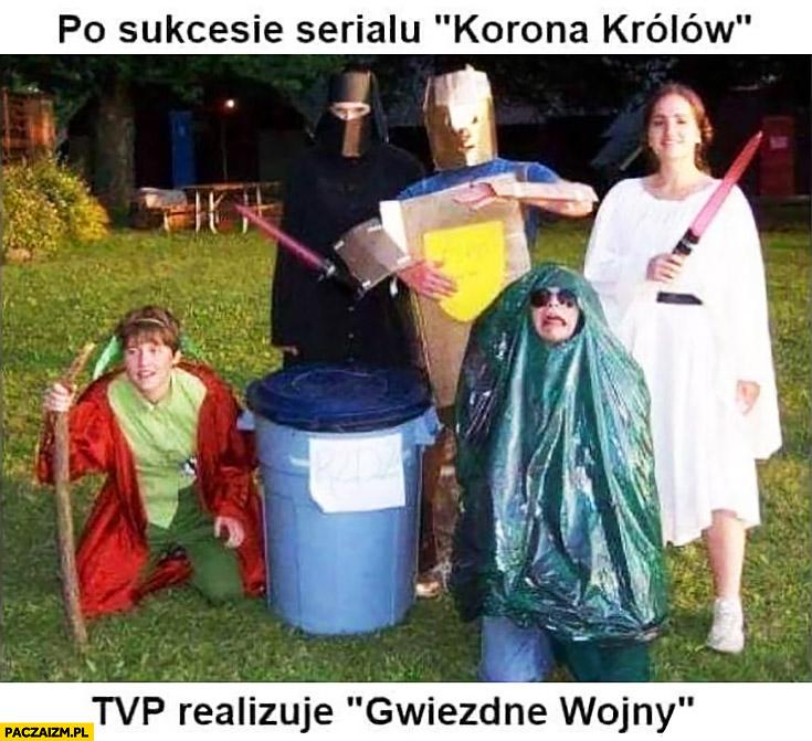 Po sukcesie serialu Korona Królów TVP realizuje Gwiezdne Wojny