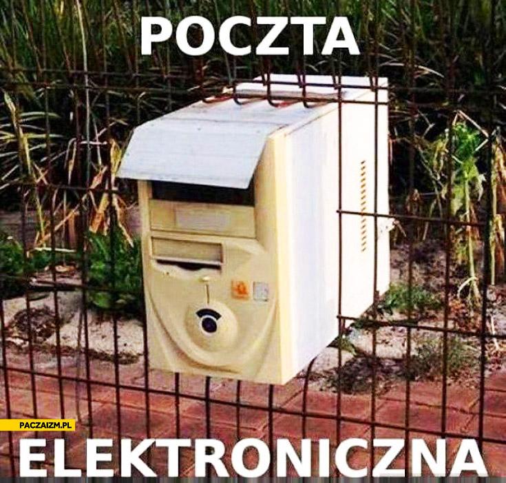 Poczta elektroniczna komputer jako skrzynka