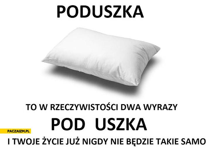 Poduszka pod uszka