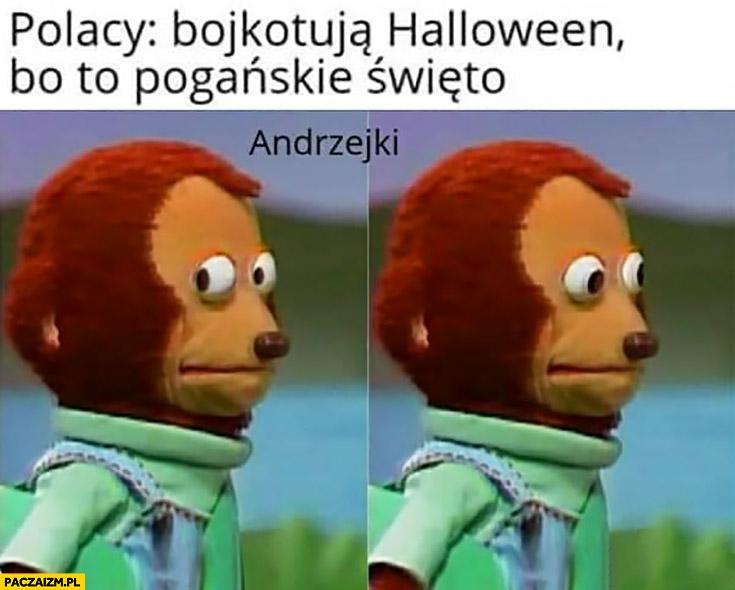 Polacy bojkotują Halloween bo to pogańskie święto Andrzejki zdziwione