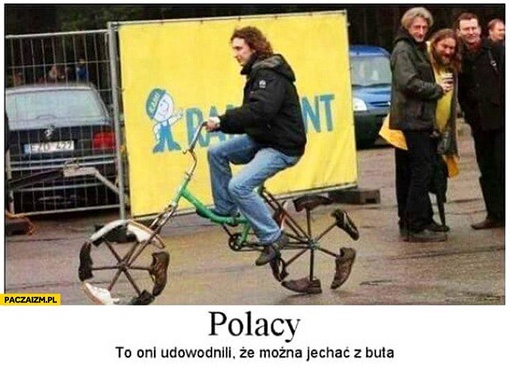 Polacy udowodnili że można jechać z buta