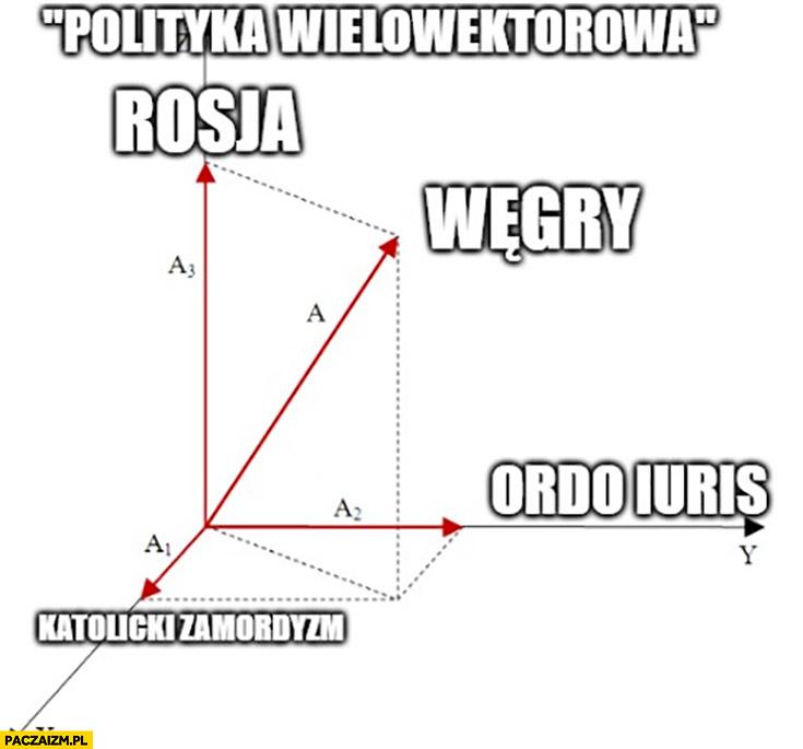 Polityka wielowektorowa według PiSu: Rosja, Węgry, ordo iuris, zamordyzm