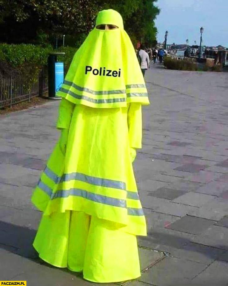 Polizei kobieta hidżab