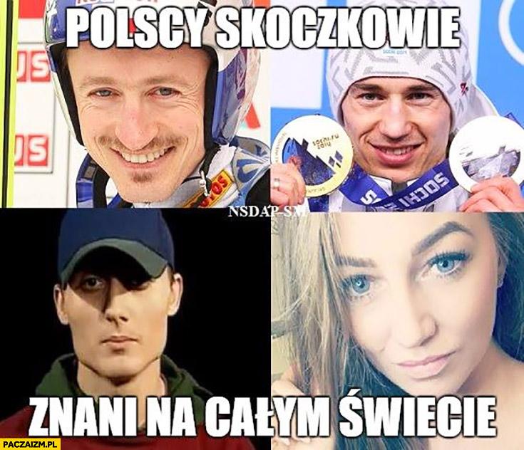 Polscy skoczkowie znani na całym świecie: Magik, Magdalena Żuk, Małysz, Stoch