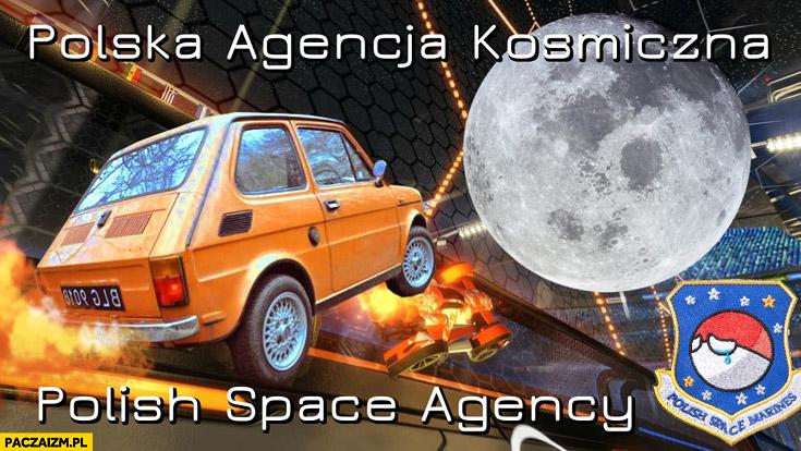Polska agencja kosmiczna Fiat 126p