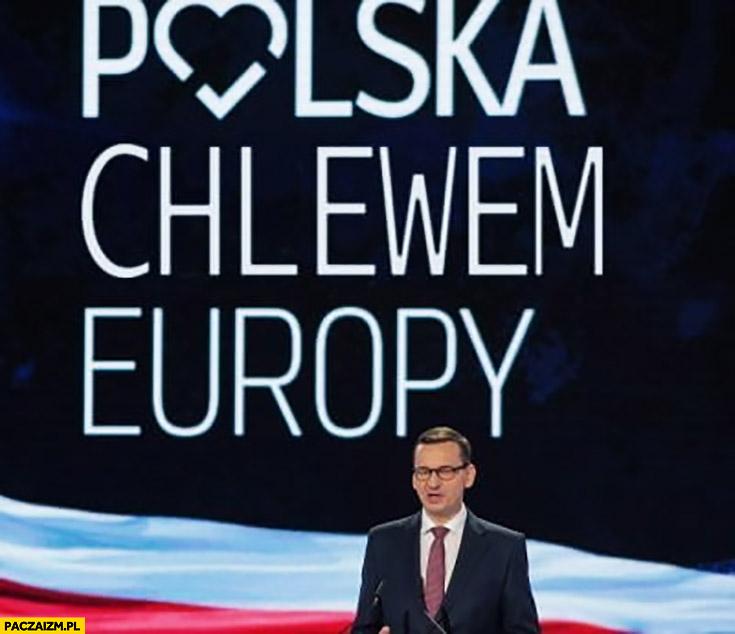 Polska chlewem Europy przeróbka hasła PiS polska sercem Europy