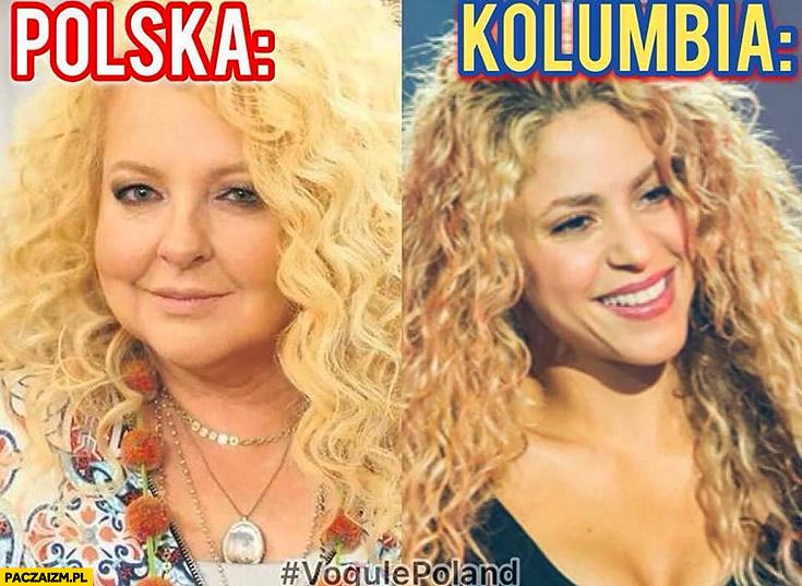 Polska Magda Gessler vs Kolumbia Shakira