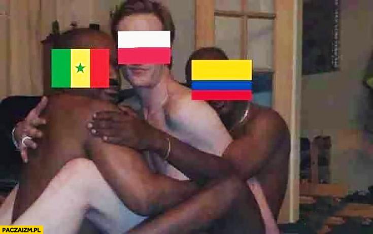 Polska na mundialu murzyni Senegal Kolumbia nas wydymali przeróbka