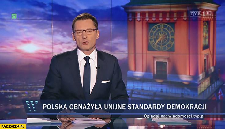 Polska obnażyła unijne standardy demokracji Wiadomości TVP