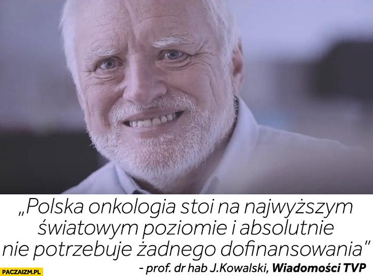 Polska onkologia absolutnie nie potrzebuje dofinansowania wiadomości TVP dziwny pan ze stocku
