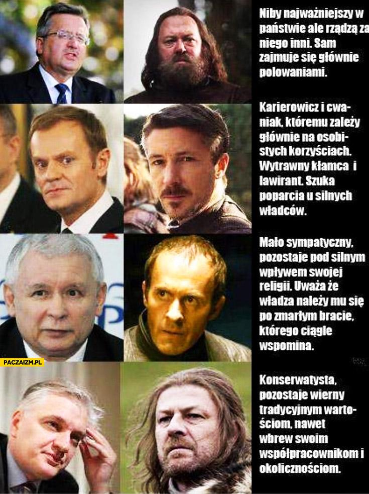 Polska polityka Gra o Tron