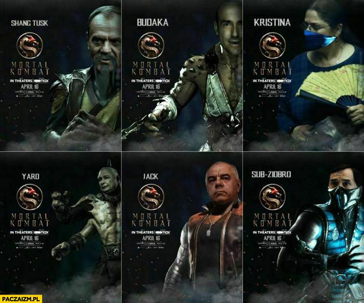 Polski Mortal Kombat przeróbka Tusk, Budka, Pawłowicz, Ziobro Zero, Sasin, Kaczyński