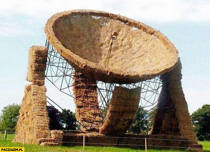Polski program kosmiczny nadajnik z siana