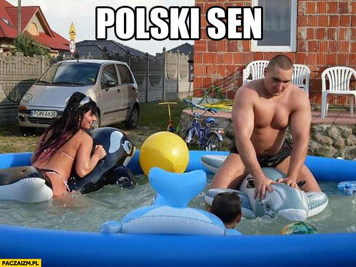 Polski sen typowa polska rodzina