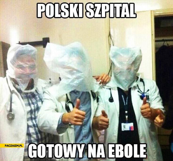 Polski szpital gotowy na ebole