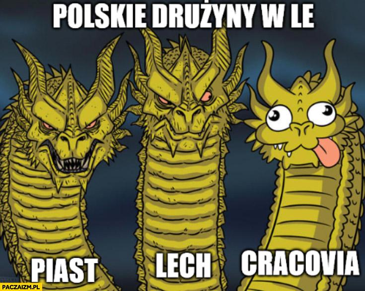 Polskie drużyny w Lidze Europy: Piast, Lech, Cracovia porównanie