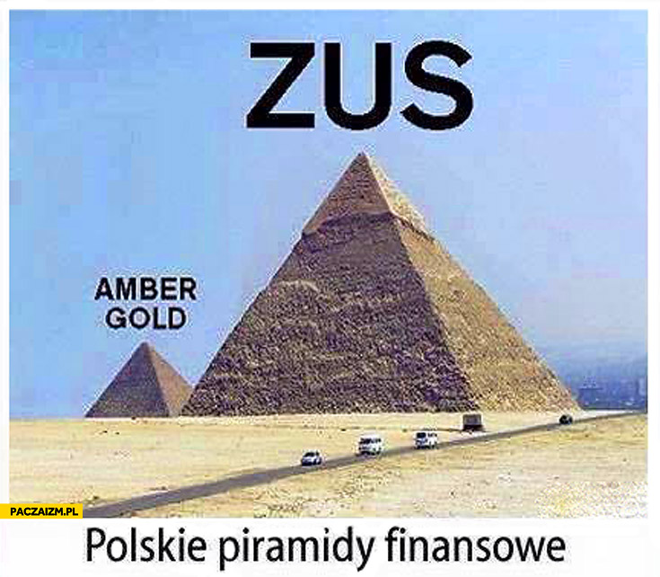 Polskie piramidy finansowe Amber Gold ZUS