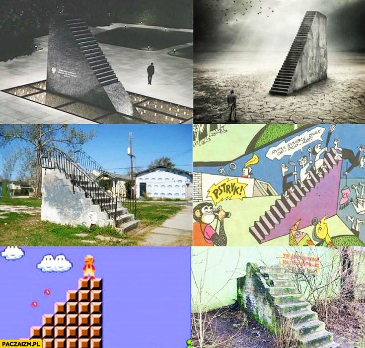 Pomniki Smoleńskie w różnych wersjach Mario, okładka płyty, Tytus Romek i A'Tomek