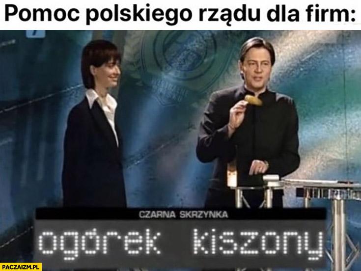 Pomoc polskiego rządu dla firm ogórek kiszony awantura o kasę