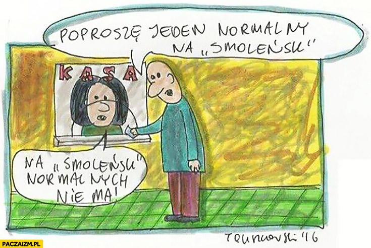 Poproszę jeden normalny bilet na Smoleńsk, na ten film normalnych nie ma