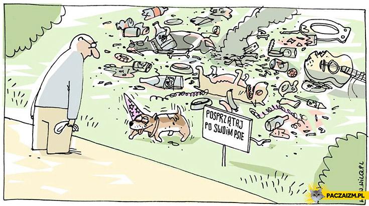 Posprzątaj po swoim psie