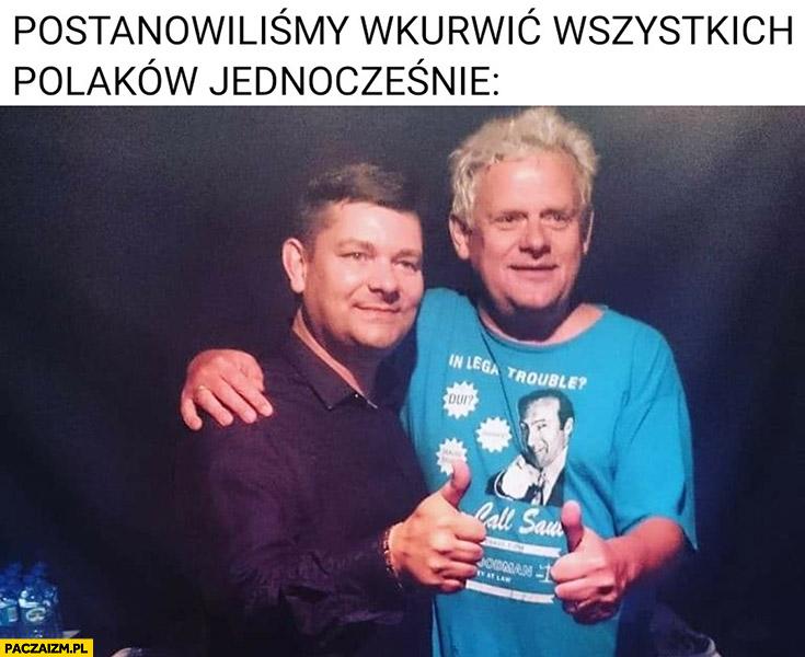 Postanowiliśmy wkurzyć wszystkich Polaków jednocześnie Kazik, Zenek Martyniuk