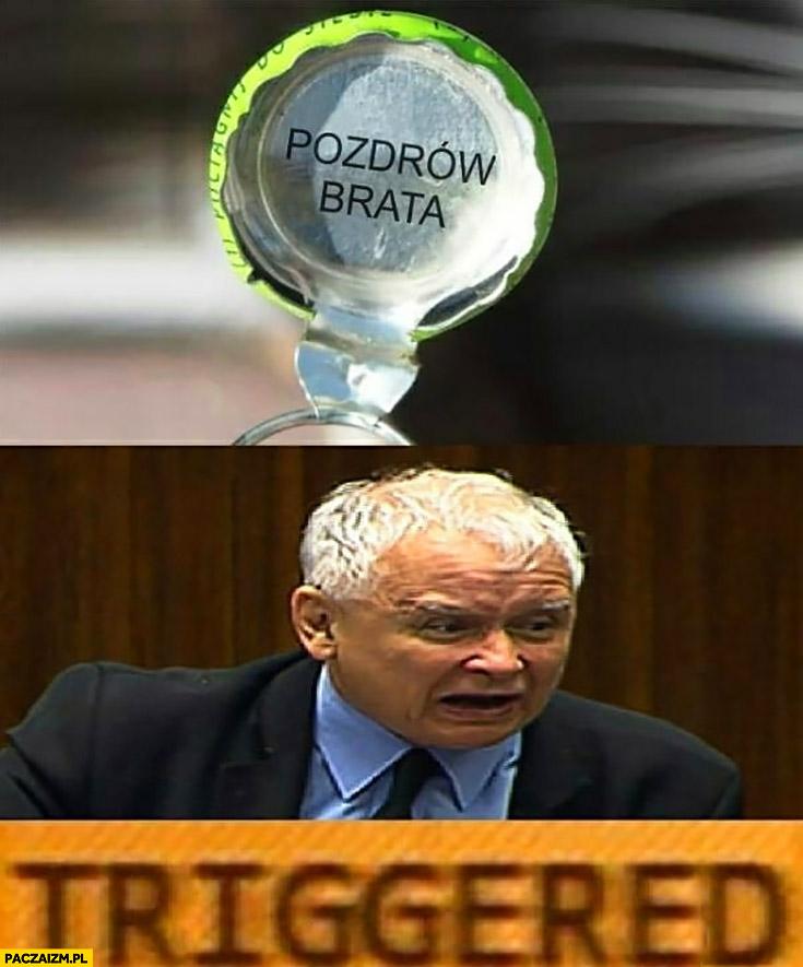 Pozdrów brata nakrętka Tymbark Kaczyński triggered