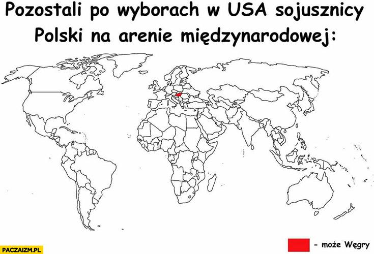 Pozostali po wyborach w USA sojusznicy Polski na arenie międzynarodowej: może Węgry