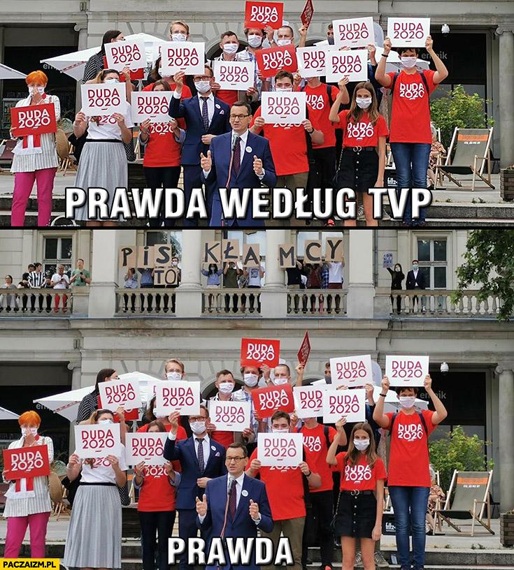 Prawda według TVP vs prawda PiS to kłamcy