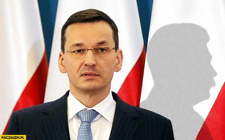 Premier Morawiecki cień Stalina przeróbka