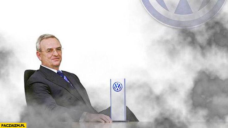 Prezes Volkswagena dym afera