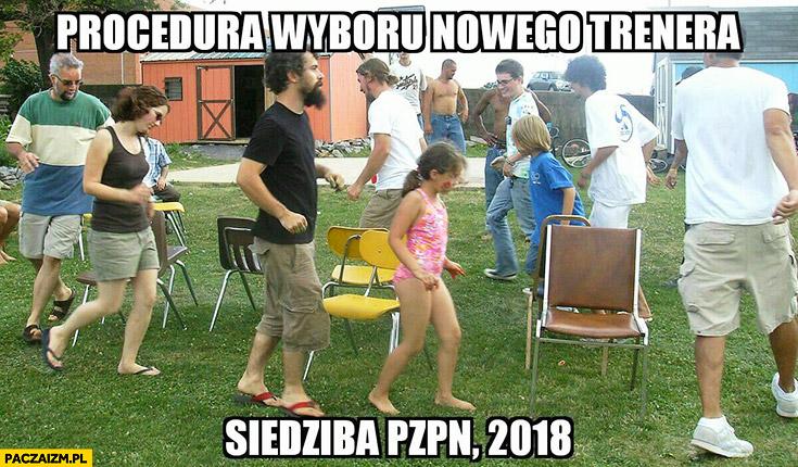 Procedura wyboru nowego trenera siedziba PZPN 2018 gra w gorące krzesła
