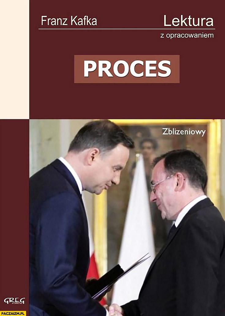 Proces Kafka lektura z opracowaniem Duda Kamiński