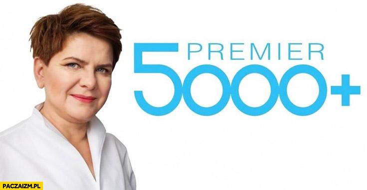 Program premier 5000 plus Beata Szydło PiS