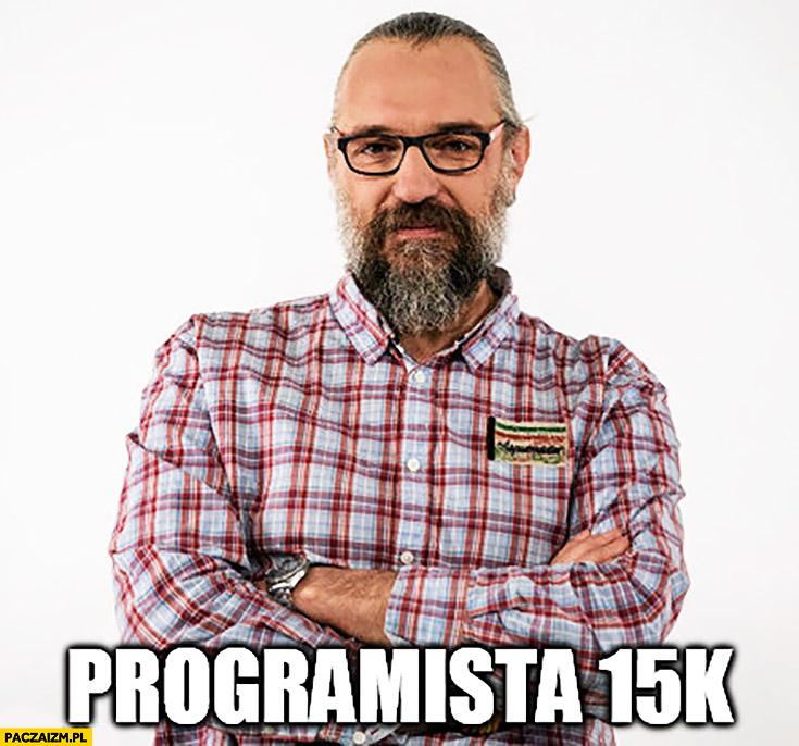 Programista 15k Mateusz Kijowski KOD lewe faktury