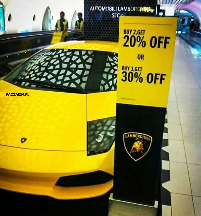 Promocja na Lamborghini