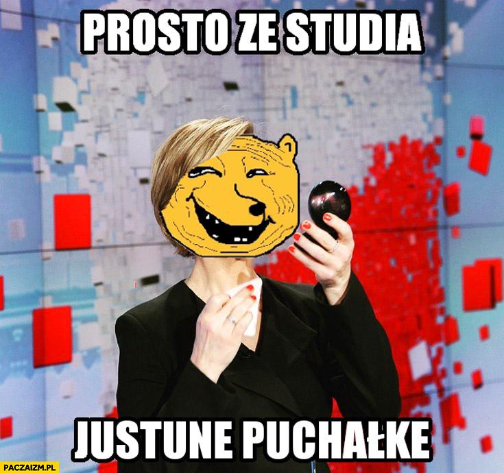 Prosto ze studia Justyna Puchałke Pochanke