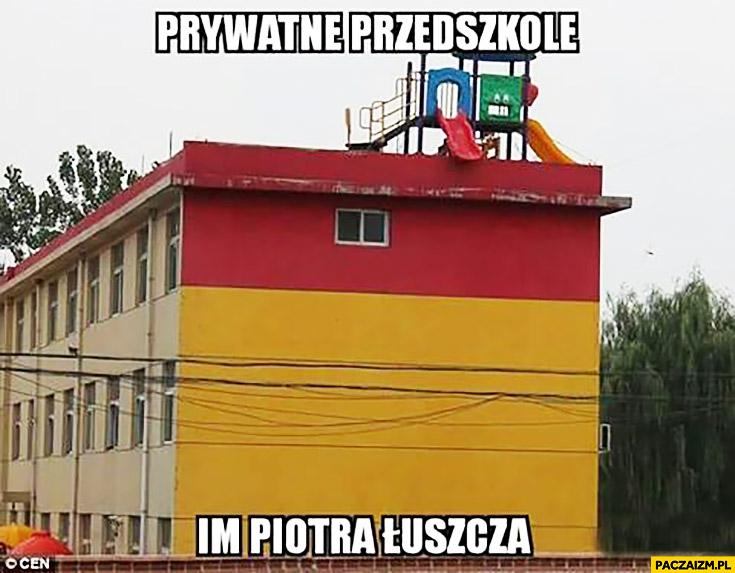 Prywatne przedszkole im. Piotra Łuszcza Magik