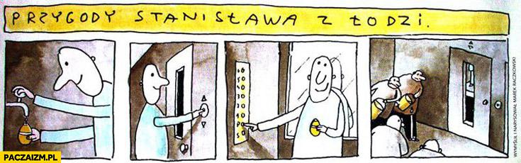 Przygody Stanisława z Łodzi śmigus dyngus winda