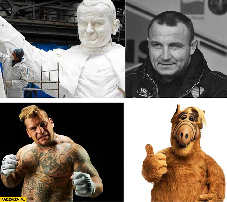 Pudzian jak Jan Paweł II, Popek Monster jak Alf
