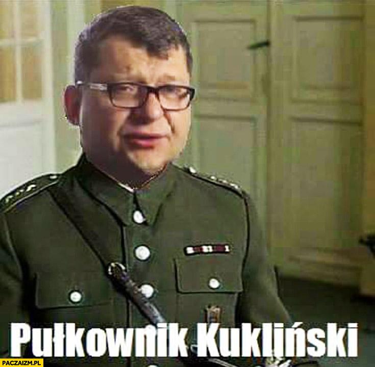 Pułkownik Kukliński Zbigniew Stonoga